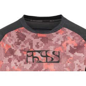 IXS Vibe 8.1 Jersey Heren, red-camo